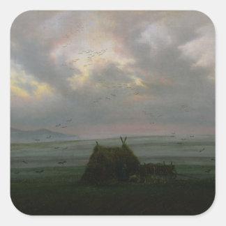 Waft of Mist, c. 1818-20 Square Sticker