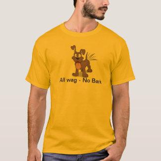 wag more bark less T-Shirt