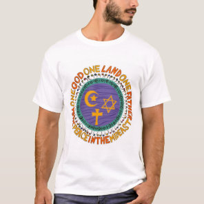 WAGE PEACE graphic T-Shirt