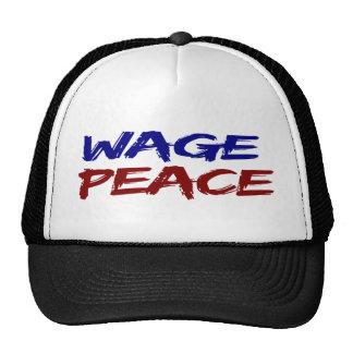 Wage Peace Trucker Hat