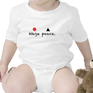 Wage Peace Infant Creeper
