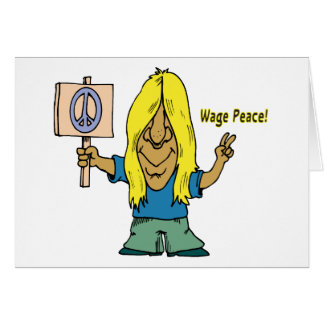Wage Peace! Not War! Cards