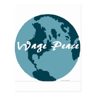 Wage Peace Postcard