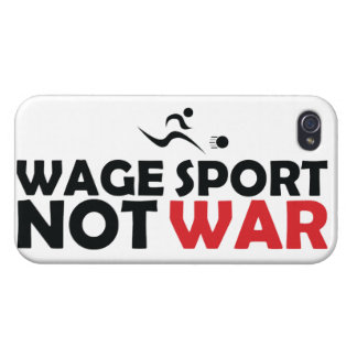 Wage Sport End War iPhone 5 Case White - Savvy