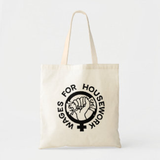 Wages for Housework Tote Bag