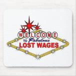 Wages_ perdido alfombrillas de raton
