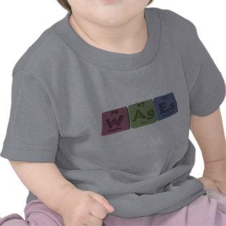 Wages-W-Ag-Es-Tungsten-Silver-Einsteinium png T Shirts