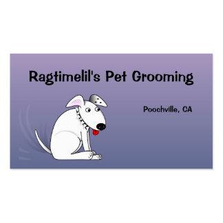 Wagging Dog Sunrise Pet Business Card