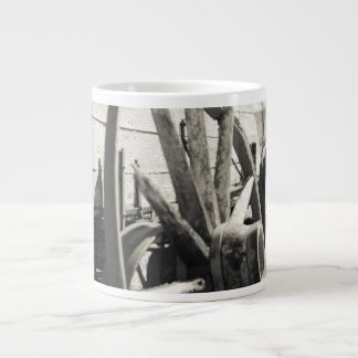 waggon 20 oz large ceramic coffee mug