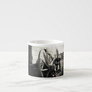 waggon 6 oz ceramic espresso cup