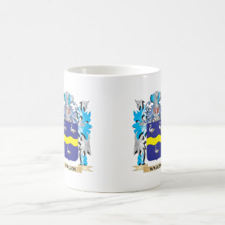 Waggon Coat of Arms - Family Crest Classic White Coffee Mug