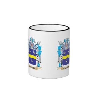Waggon Coat of Arms - Family Crest Ringer Coffee Mug