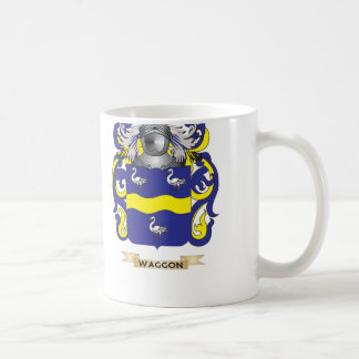 Waggon Family Crest (Coat of Arms) Classic White Coffee Mug