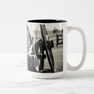 waggon Two-Tone coffee mug