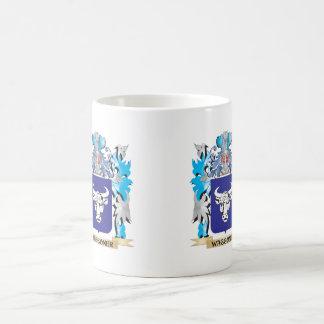 Waggoner Coat of Arms - Family Crest Classic White Coffee Mug