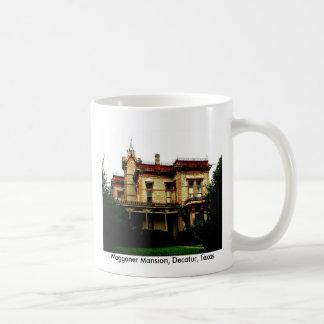 Waggoner Mansion, Decatur, Texas Classic White Coffee Mug