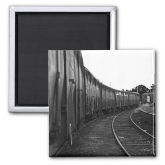 Waggons 2 Inch Square Magnet