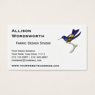 Wagler's Hummingbird - Trochilus waglerii Business Card