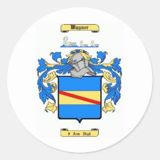 wagner classic round sticker