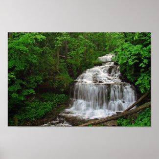 Wagner Falls, Michigan Print print