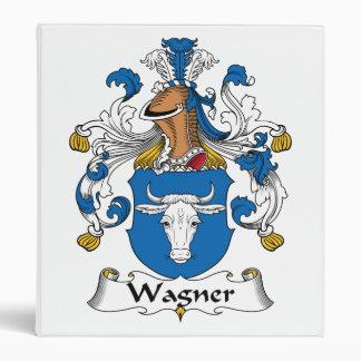 Wagner Family Crest 3 Ring Binder