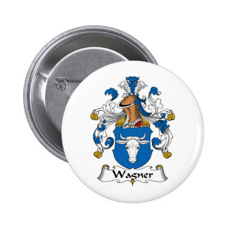 Wagner Family Crest Button