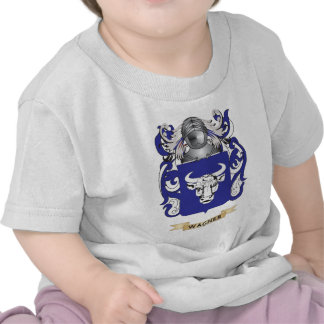 Wagner Family Crest (Coat of Arms) Tshirts