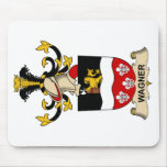 Wagner Family Crest Mousepads
