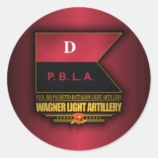 Wagner Light Artillery, 3rd PBLA Classic Round Sticker