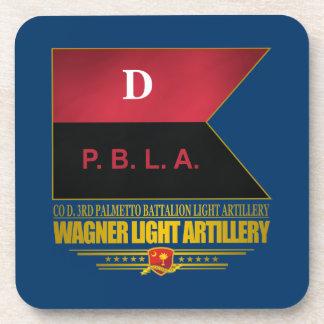 Wagner Light Artillery Beverage Coasters