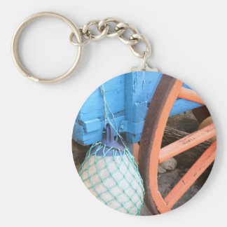 Wagon Float Keychain