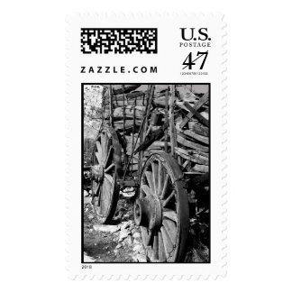 Wagon, Gold Hill Postage Stamp
