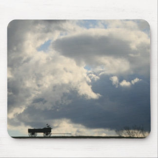 Wagon Hill Clouds Mouse Pad