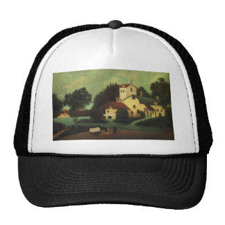 Wagon in Front of the Mill by Henri Rousseau Trucker Hat