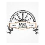 wagon land claim letterhead