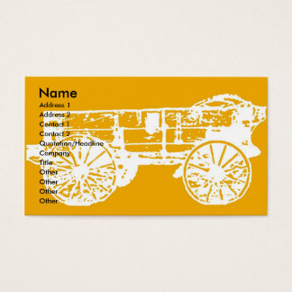 wagon, Name, Address 1, Address 2, Contact 1, C... Business Card