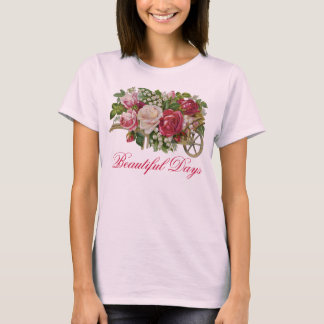 Wagon of Roses Vintage T-shirt