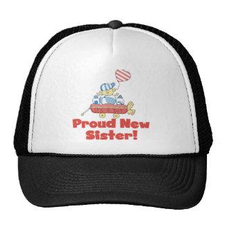 Wagon Proud New Sister It's a Boy Trucker Hat