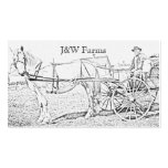 Wagon Ride Business Card Templates