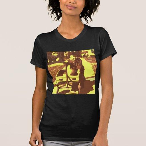 Wagon Ride Yellow Tee Shirts