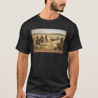 Wagon Train Vintage American West Pioneers T-Shirt