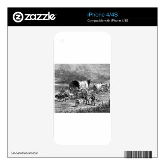 wagon-trains-1Lightning Express-Thayer.jpg Decal For The iPhone 4