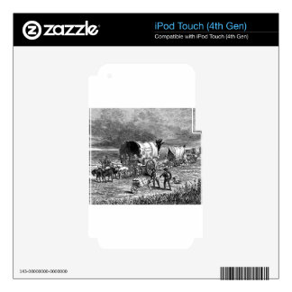 wagon-trains-1Lightning Express-Thayer.jpg iPod Touch 4G Decal