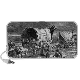 wagon-trains-1Lightning Express-Thayer.jpg Portable Speaker