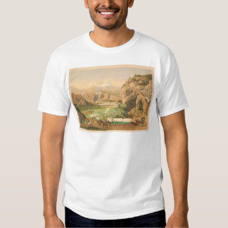 Wagon Trains arriving at Outpost (1838A) Shirt