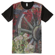Wagon Wheel 1 All-Over Print T-shirt