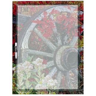 Wagon Wheel 1 Dry-Erase Board