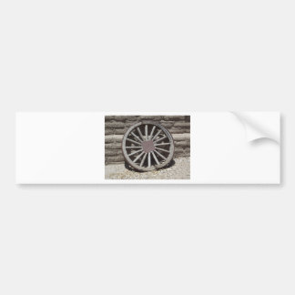 Wagon Wheel Bumper Sticker