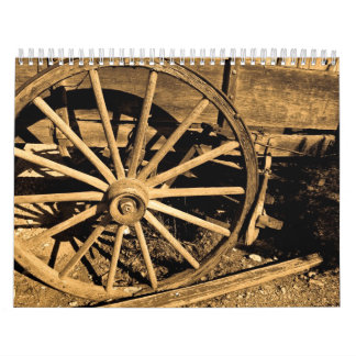 Wagon Wheel calendar