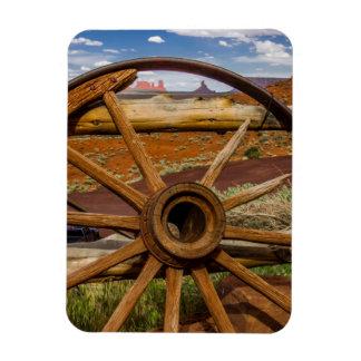 Wagon wheel close up, Arizona Magnet